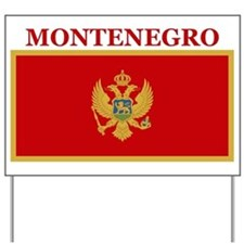 Montenegro Products Yard Sign