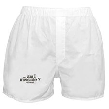 am I invisible? Boxer Shorts
