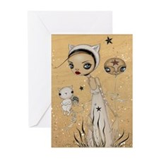 Feline Femme Greeting Cards (Pk of 10)