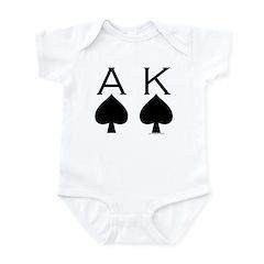 Ace King Infant Bodysuit