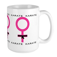 Karate Black Belt Female Mug