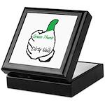 Green Thumb Dirty Nails Keepsake Box