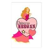 Princess Keegan Postcards (Package of 8)
