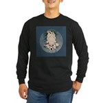 English Setter Puppy Long Sleeve Dark T-Shirt