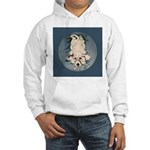 English Setter Puppy Hooded Sweatshirt