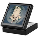 English Setter Puppy Keepsake Box