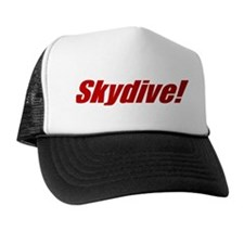 Unique Skydiv Trucker Hat