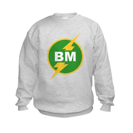 BM Best Man Kids Sweatshirt