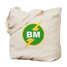 BM Best Man Tote Bag