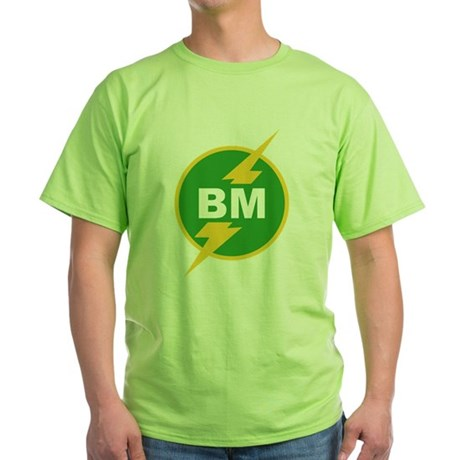 BM Best Man Green T-Shirt