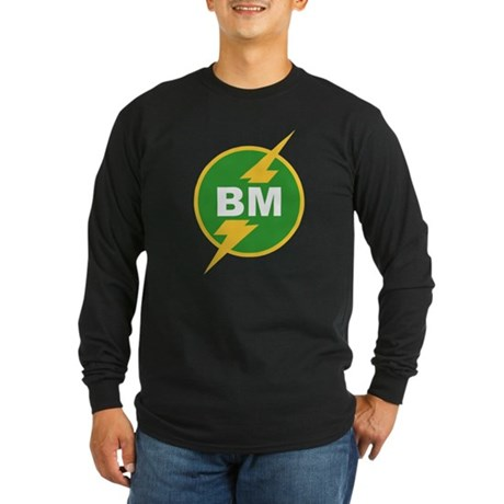 BM Best Man Long Sleeve T-Shirt