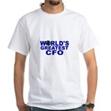 World's Greatest CFO Shirt