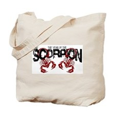 Year of the Scorpion Tote Bag