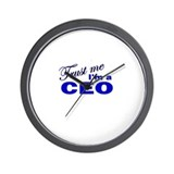 Trust Me I'm a CEO Wall Clock