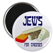 "jews for cheeses 2.25"" Magnet (10 pack)"
