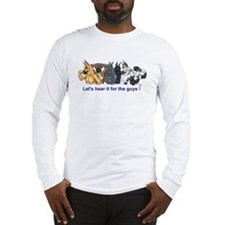 HereIt4Guys Great Dane Long Sleeve T-Shirt
