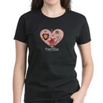 I Love Daylilies Women's Dark T-Shirt
