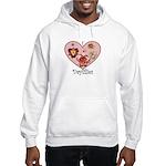 I Love Daylilies Hooded Sweatshirt