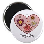I Love Daylilies Magnet