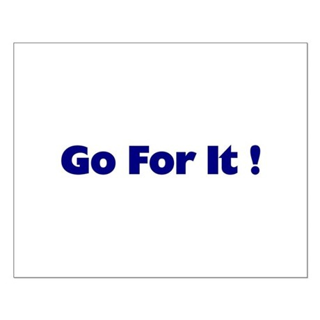Go For It Small Poster