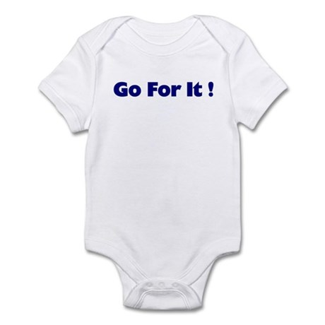 Go For It Infant Bodysuit