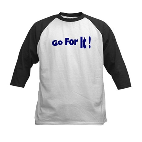 Go For It Kids Baseball Jersey
