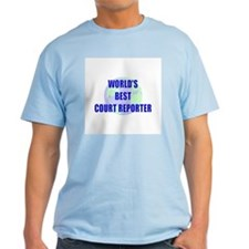 World's Best Court Reporter T-Shirt