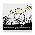 Heaven - Thoreau Tile Coaster