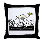 Heaven - Thoreau Throw Pillow