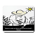 Heaven - Thoreau Mousepad