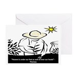 Heaven - Thoreau Greeting Card