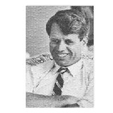 Photo mosaic: Robert F. Kennedy Postcards (Package