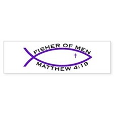 Fisher (PUR) - Bumper Bumper Sticker