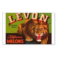 Levon Melons Rectangle Decal
