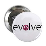 "Evolve to Peace - Pink 2.25"" Button"