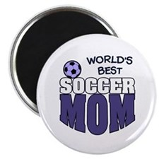 World's Best Soccer Mom Magnet