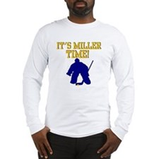 Miller Time Jersey Long Sleeve T-Shirt