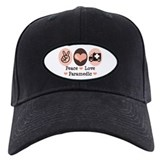 Peace Love Paramedic EMT Baseball Hat