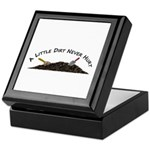 A Little Dirt Keepsake Box