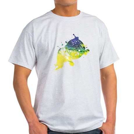Paint Splat French Horn Light T-Shirt