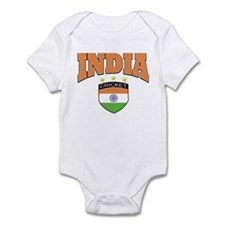 Indian cricket design Infant Bodysuit