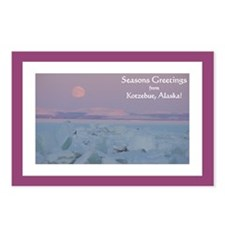 Kotzebue Seasons Greetings 3 Postcards (Package of