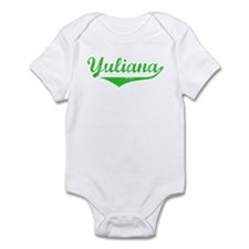 Yuliana Vintage (Green) Infant Bodysuit