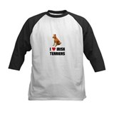 I Love Irish Terriers Tee