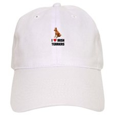 I Love Irish Terriers Baseball Cap