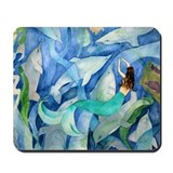 Dolphin & Mermaid Party Mousepad