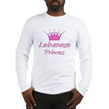 Lebanese Princess Long Sleeve T-Shirt