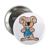 Cool Koala 2.25&quot; Button (10 pack)