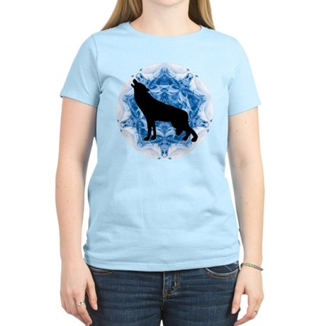 Wolf Silhouette Women's Light T-Shirt