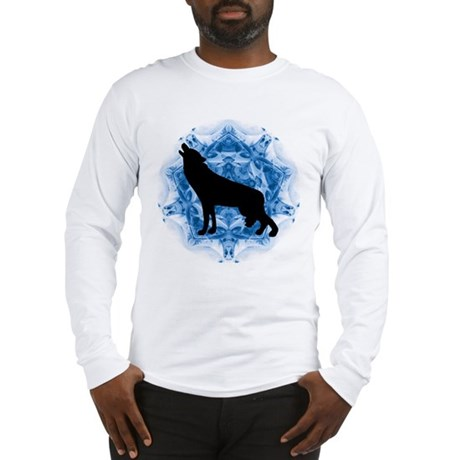 Wolf Silhouette Long Sleeve T-Shirt